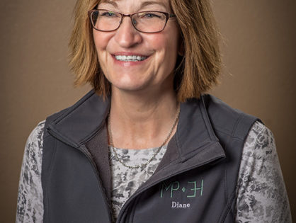 """Diane Gleason<br><font size=""""4""""><a href=""""mailto:diane@mpevh.com"""">diane@mpevh.com</a></font>"""